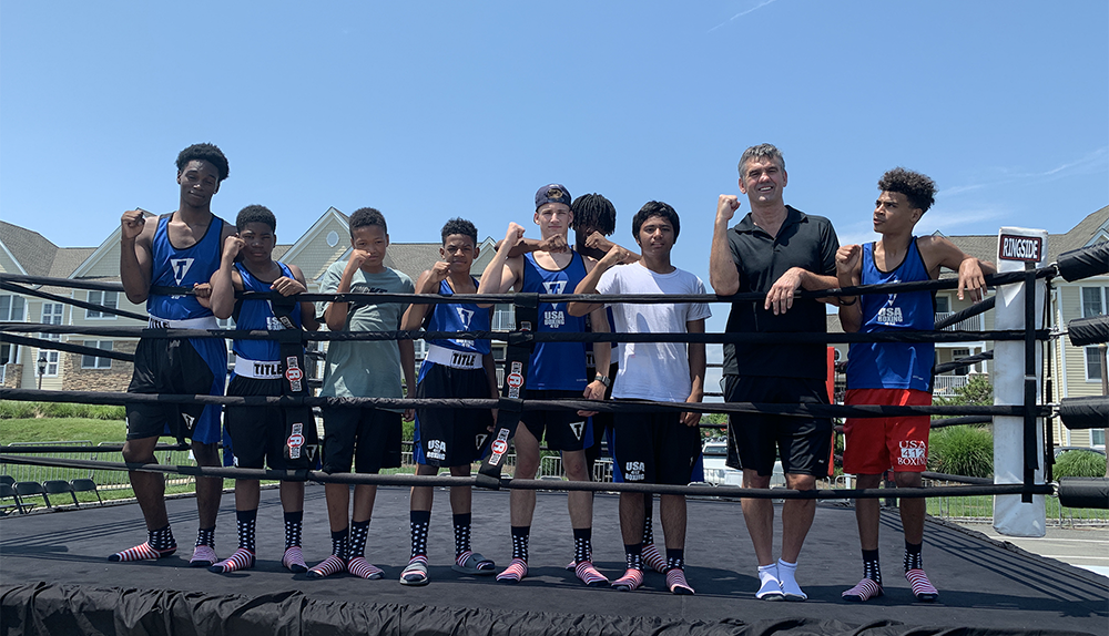 Youth from Pittsburgh, Penn. attend the 2019 Battle on the Beach Fundraiser in Long Branch, NJ.
